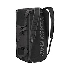 Craghoppers - Black/quarry grey 70l holdall bag