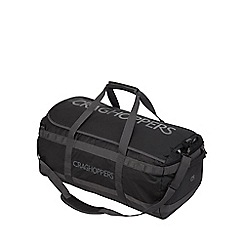 Craghoppers - Black/quarry grey 90l longhaul holdall
