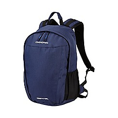 Craghoppers - Night blue 15l kiwipro water-resistant rucksack