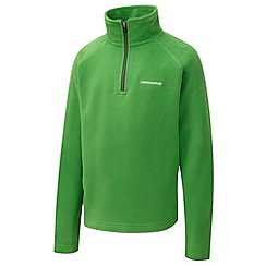 Craghoppers - Boys Bright green yuri half-zip