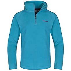 Craghoppers - Girls Caribbean sea iskara half-zip fleece