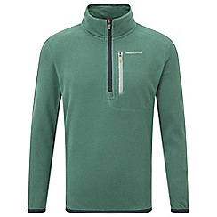 Craghoppers - Boys Alpine green boys pro lite half zip fleece