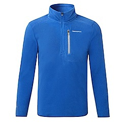 Craghoppers - Kids Sport blue boys pro lite half zip fleece