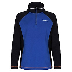 Craghoppers - Boys Dark navy/cobalt boys union half-zip fleece