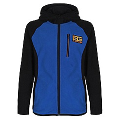 Craghoppers - Kids Extrblue/black bear kids core microfleece hooded jacket
