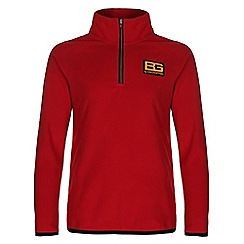 Bear Grylls - Boys Bear red bear core microfleece