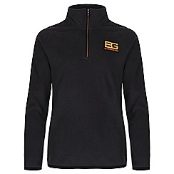 Bear Grylls - Boys Black pepper bear core microfleece