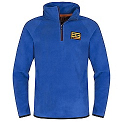 Bear Grylls - Boys Extreme blue bear core microfleece