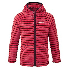 Craghoppers - Kids Maple red Earlton fleece jacket