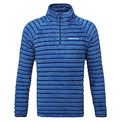 Craghoppers - Kids Sport blue Appleby insulating half zip fleece