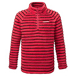 Craghoppers - Kids Maple red Appleby insulating half zip fleece