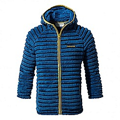 Craghoppers - Kids night blue combo farley hooded insulating jacket
