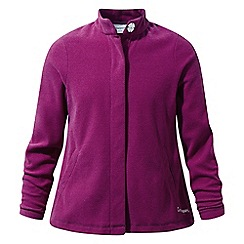 Craghoppers - Pink 'Anjey' insulating fleece jacket