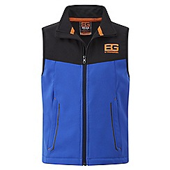 Bear Grylls - Kids Extrblue/black bear core softshell vest