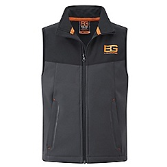 Bear Grylls - Kids Blk pepper/blk bear core softshell vest