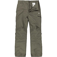 Craghoppers - Kids Light bark kiwi cargo trousers