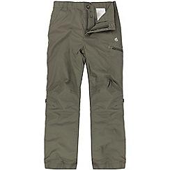 Craghoppers - Kids Light bark kiwi cargo trousers