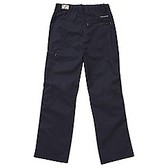 Craghoppers - Boys Dark navy kiwi cargo trousers