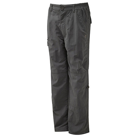 Craghoppers - Black Pepper insect repelling cargo trousers