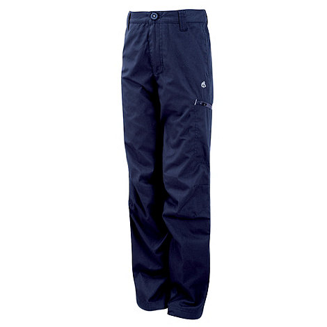 Craghoppers - Dark Navy Winter Lined Kiwi Trousers
