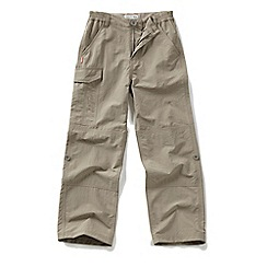 Craghoppers - Boys Pebble nosilife cargo trousers