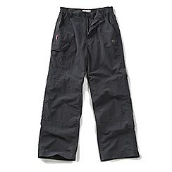 Craghoppers - Kids Black pepper nosilife cargo trousers