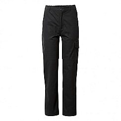Craghoppers - Kids black discovery adventures cargo trousers