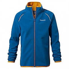 Craghoppers - Kids deep blue Discovery adventures softshell jacket