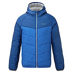 Craghoppers - Boys Sport blue Compresslite packaway hooded jacket