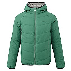 Craghoppers - Bright green boys compress lite jacket