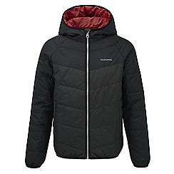 Craghoppers - Boys Blackpepper/black compresslite jacket
