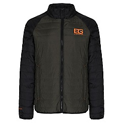 Bear Grylls - Kids Advengreen/blk bear core compresslite jacket