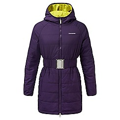 Craghoppers - Girls Dark plum Lightweight insulating romy jacket