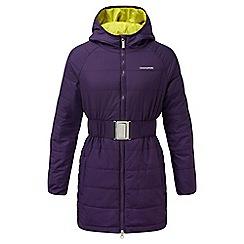 Craghoppers - Girls Dark plum Lightweight insulating romy jacket