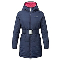 Craghoppers - Girls Soft navy Lightweight insulating romy jacket