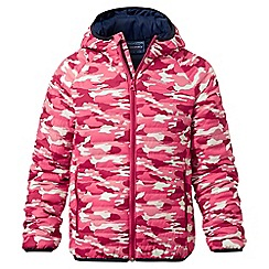Craghoppers - Girls electric pink Discovery adventures climaplus jacket