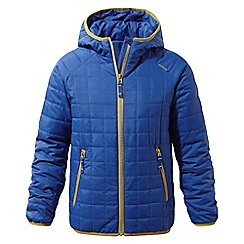 Craghoppers - Blue 'Bruni' lightweight water-resistant jacket