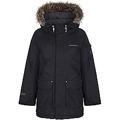 Craghoppers - Boys Black marton parka