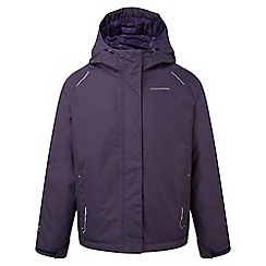 Craghoppers - Kids Dark purple Bekita thermic waterproof jacket