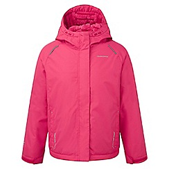 Craghoppers - Kids Electric pink Bekita thermic waterproof jacket
