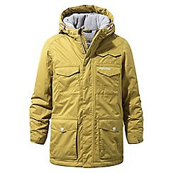 Craghoppers - Yellow 'Alix' waterproof insulating jacket