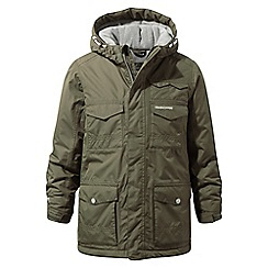 Craghoppers - Green 'Alix' waterproof insulating jacket