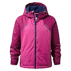 Craghoppers - Pink 'Risley' waterproof hooded jacket