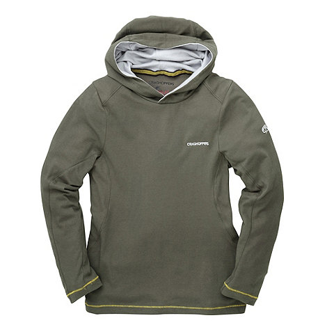 Craghoppers - Green Boys Insect Repelling Graphic Hoody