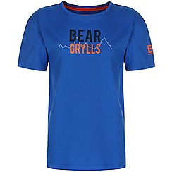 Bear Grylls - Boys Extreme blue bear 1974 t-shirt