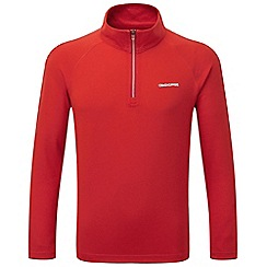 Craghoppers - Dynamite red nosilife ace long sleeved zip neck