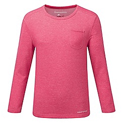 Craghoppers - Electric pink marl nosilife louise tee