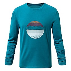 Craghoppers - Green 'Erna' long sleeved tee