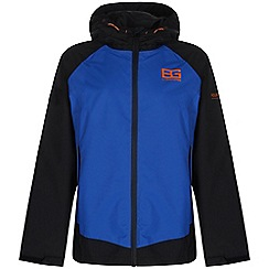 Bear Grylls - Boys Extrblue/black bear core waterproof jacket