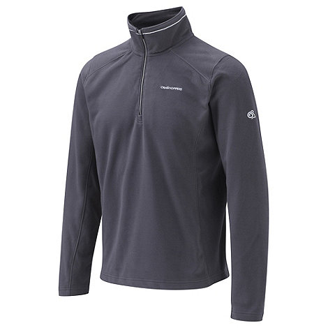 Craghoppers - Black Pepper Corey III Half-Zip Fleece